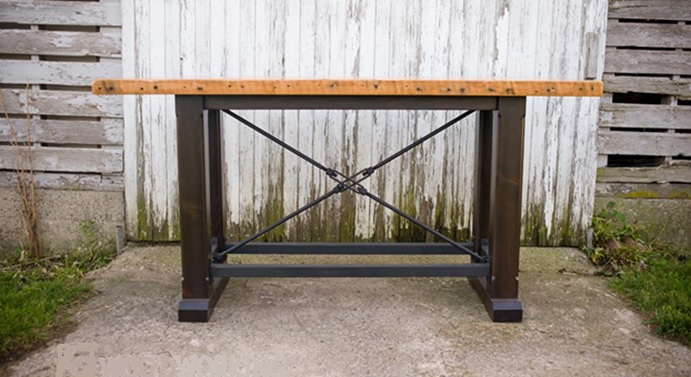 Homestead Woodworking Pub Table